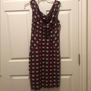 DVF beautiful dress. Worn once! Size 12